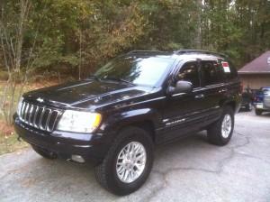 New Addition: 2003 Grand Cherokee – Inland Crossing